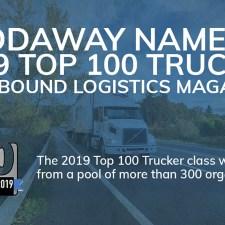 Reddaway named a 2019 Top 100 Trucker by Inbound Logistics Magazine